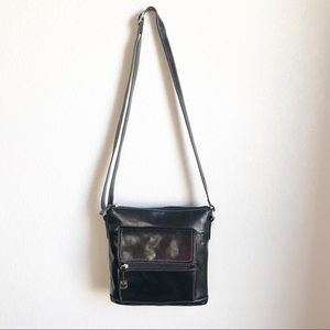 Giani Bernini • Black Crossbody Purse